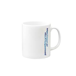 スズリURL青グラデーション Mugs