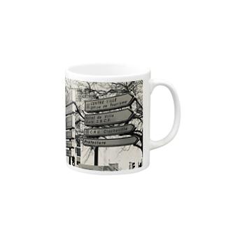 サイン Mugs