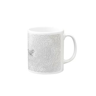 3つの山(複雑mix) Mugs