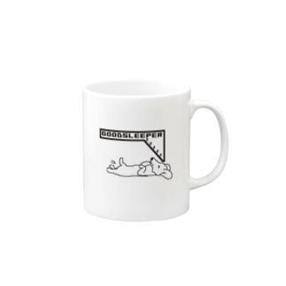 GOODスリーパーDOG Mugs
