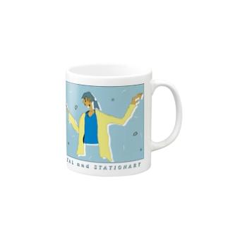 褐色女 Mugs