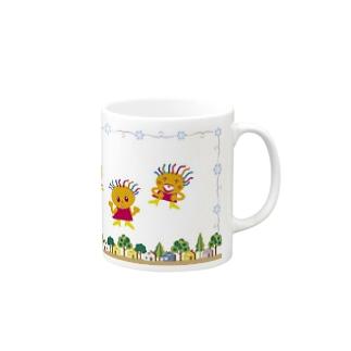 いつも笑顔のクレコちゃん Mugs