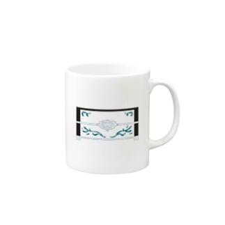 1漢字[日]★002 宝石箱_黒字 Moegiiro×Opaline Mugs