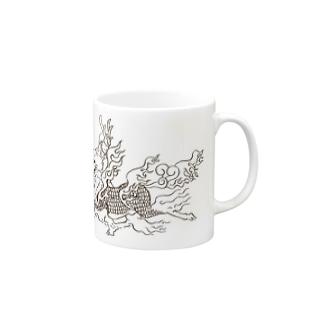 ケンタウロス:聳弧(単色) Mugs
