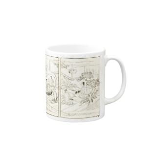 夢応の鯉魚(裏写り低減版) Mugs