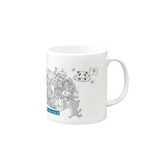 塊ingress 東北(絆) Mugs