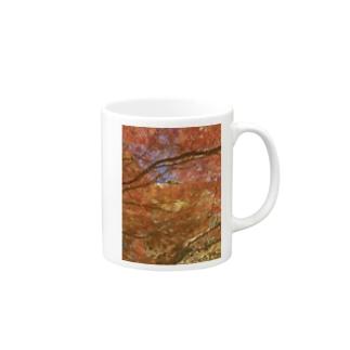紅葉へ行こうよう Mugs