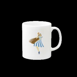 - さらさら -のsummer (ライトブルー) Mugs