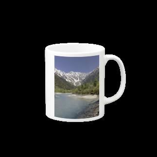 machiawaseの上高地 Mugs