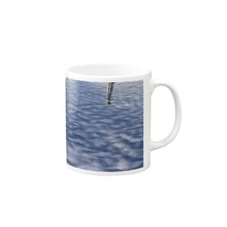 Water surface - 水面加工【え】 マグカップ