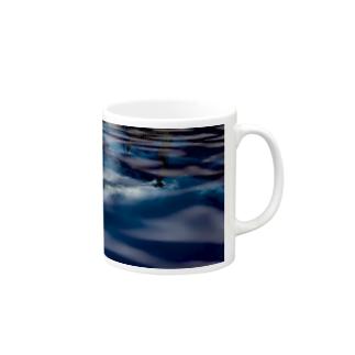 Water surface - 水面加工【か】 マグカップ
