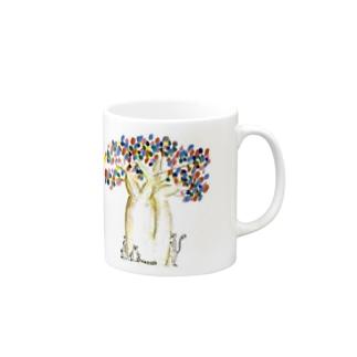 しあわせのパオパブの木 Mugs