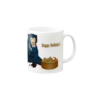 Happy Holidays! マグカップ
