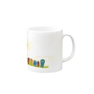 やまのぼり Mugs