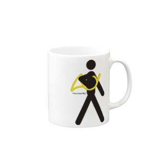 The Walking Hornist w/o Logo Mugs