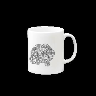 晴田書店のぐるぐるマグカップ