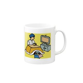 レタスと過ごすふゆやすみ Mugs