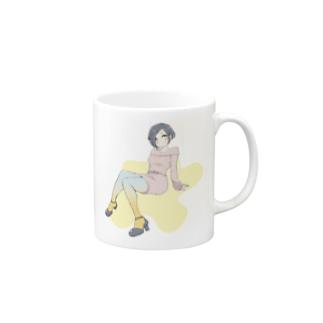 カラータイツ Mugs