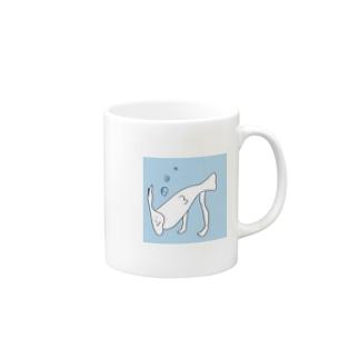深海人魚 マグカップ