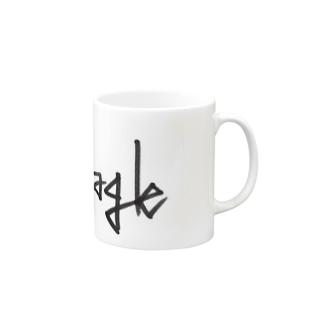それっぽく犬種をロゴ化 Mugs