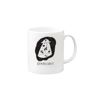 フライ ザ キャトルミューティレーション Mugs