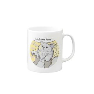 cat's chloe_wcom Mugs