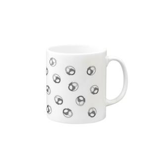 ダークモノクロドクロ マグカップ