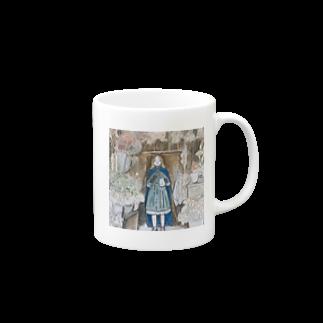 momosasanoiの中国茶の魔女 Mugs