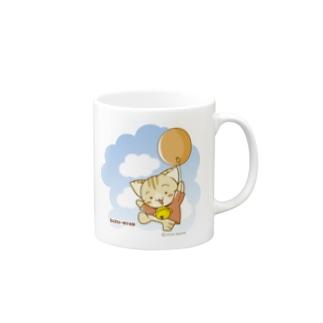 すずにゃん(風船) マグカップ