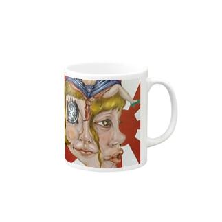 女子力 Mugs