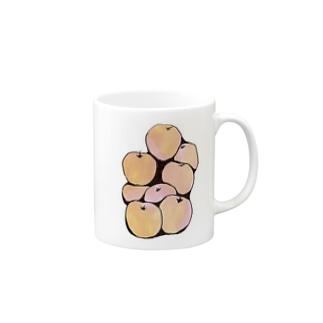 リンゴ Mugs