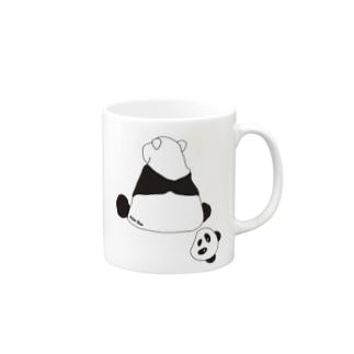 パンダ? Mugs