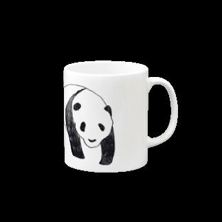 ふじの さきのぱぱパンダ Mugs