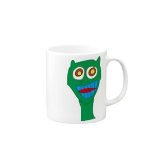 野良猫ギャピー!!! Mugs
