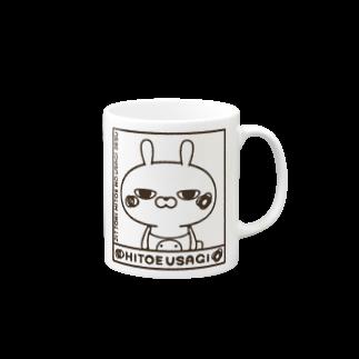 NEGI@トトくん・ひとえうさぎのひとえうさぎ Mugs