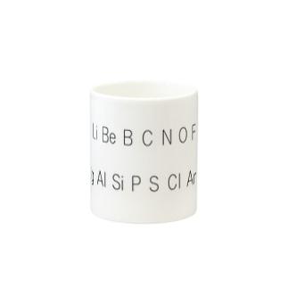 元素記号 Mugs