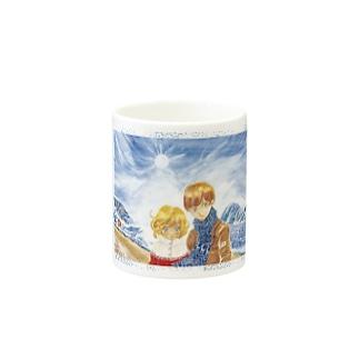 =AURORA= 氷河の前で Mugs