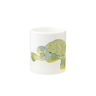 昭島の銭湯の亀 Mugs