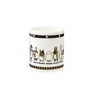 とーとつにエジプト神 12柱 Mugs