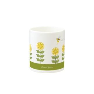 Lemon Flower Mug