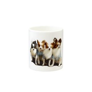 パピヨン(一家) Mugs