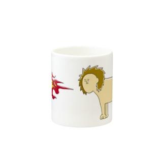 ほのおらいおんさん Mugs