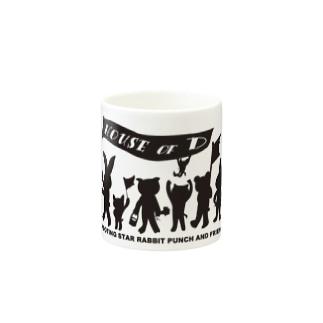 ぱんちHOD30 black Mugs
