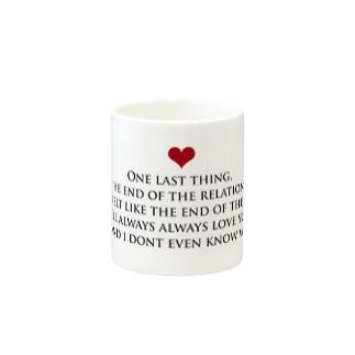 ラブレター Mugs