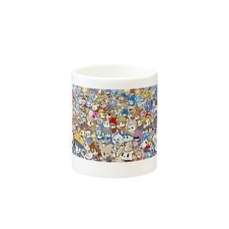 走る企画全員集合マグカップ Mugs