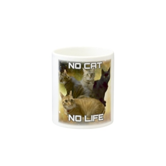 NO CAT  NO LIFE Mugs