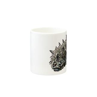 人面魚ならぬ人面海鼠 Mugs