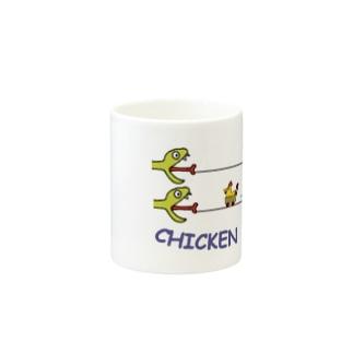 チキンレース Mugs