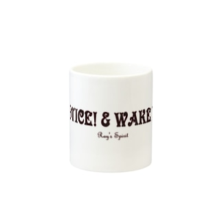 NOTICE! & WAKE UP!(BLACK) Mugs