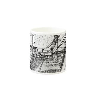 風景画 Mugs
